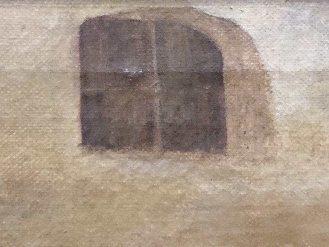 A Framed oil Painting - 4
