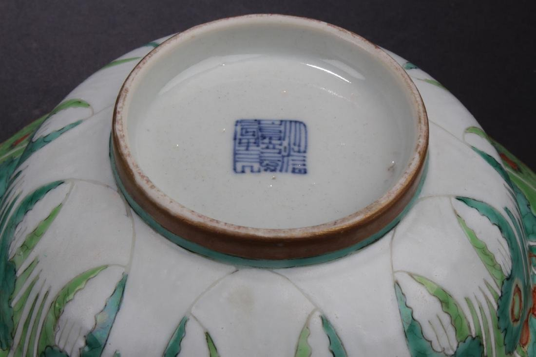 A Pair of Antique Chinese Famille Rose Bowls - 2