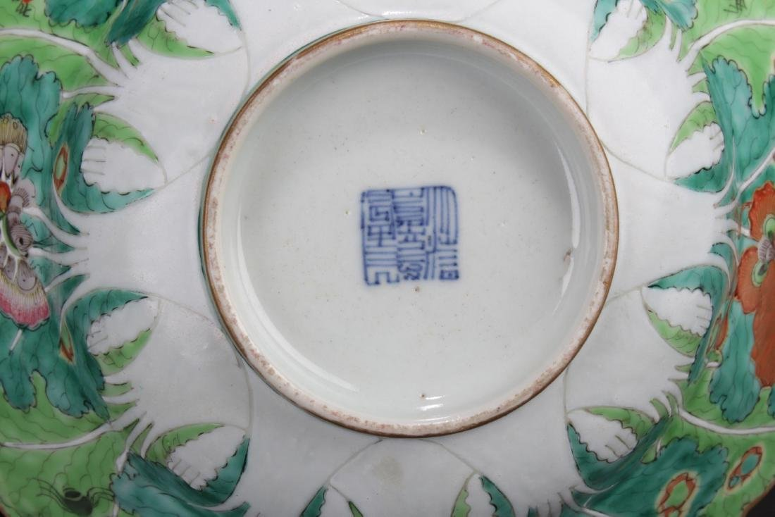 A Pair of Antique Chinese Famille Rose Bowls - 6