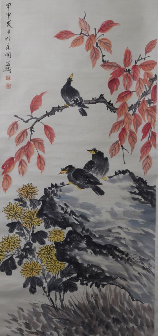 Chinese Sroll Painting