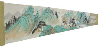 Chinese Scroll Painting Album