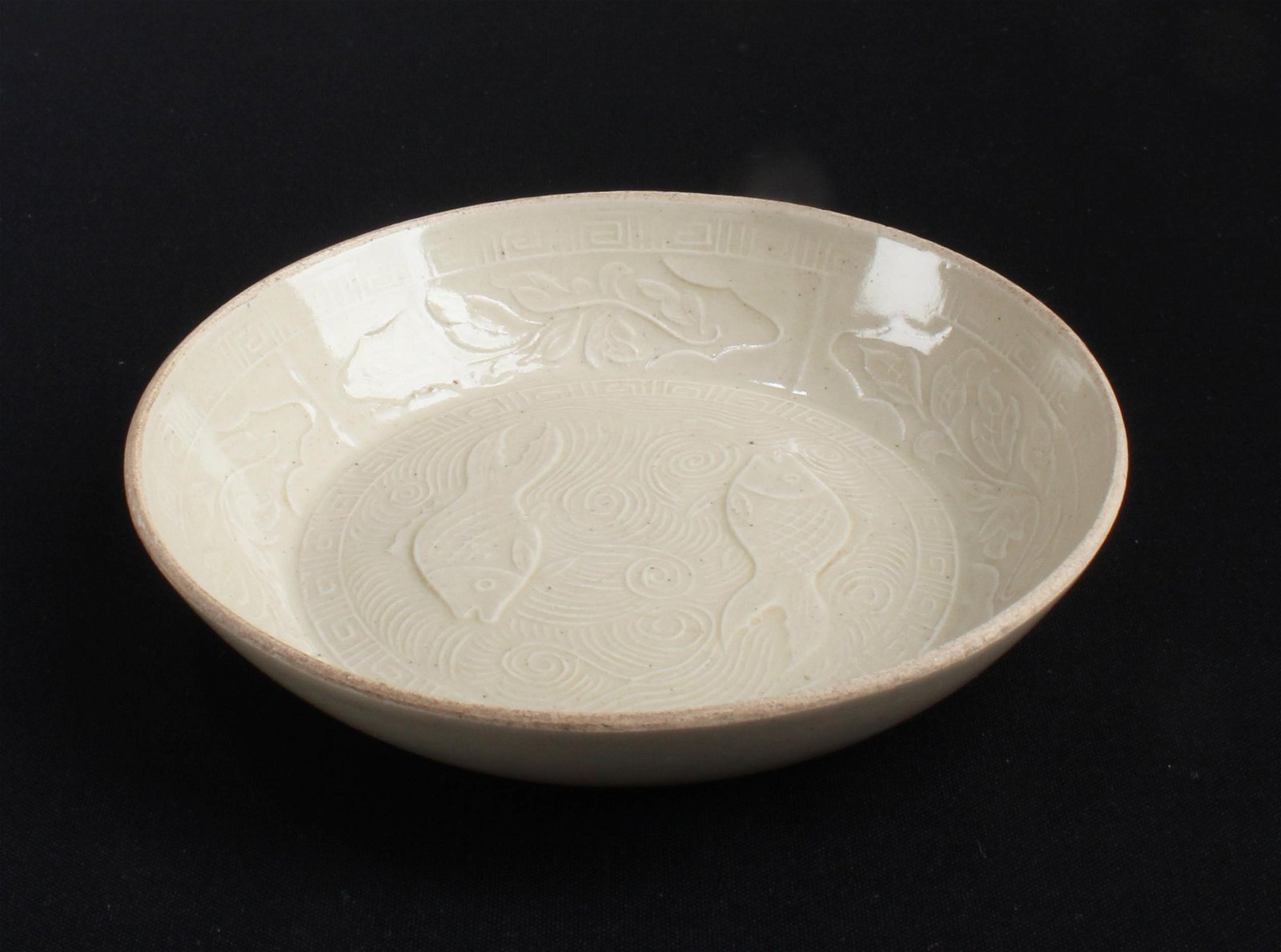 Chinese Dingyao Saucer