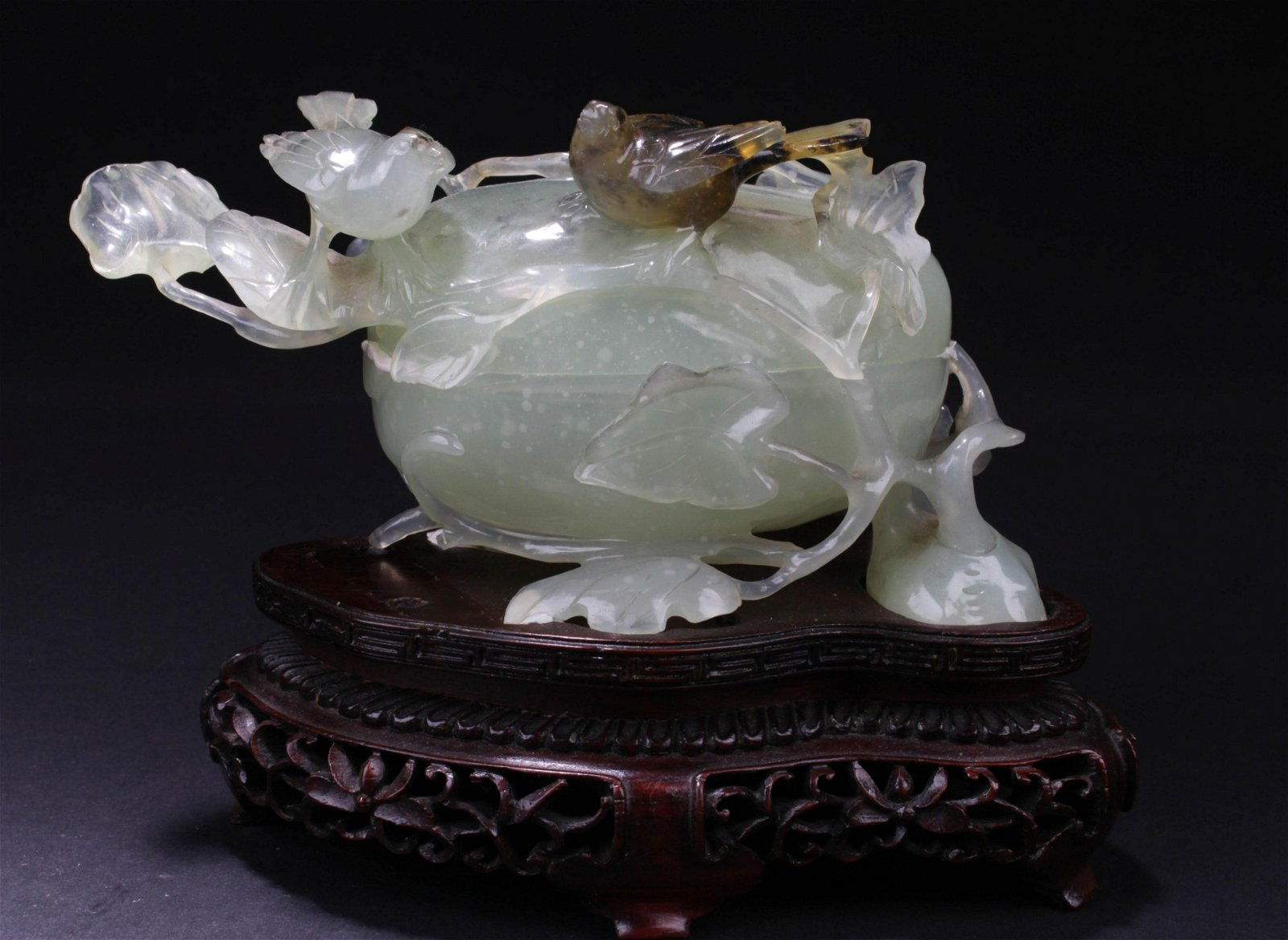 Chinese Carved Jade Vessel