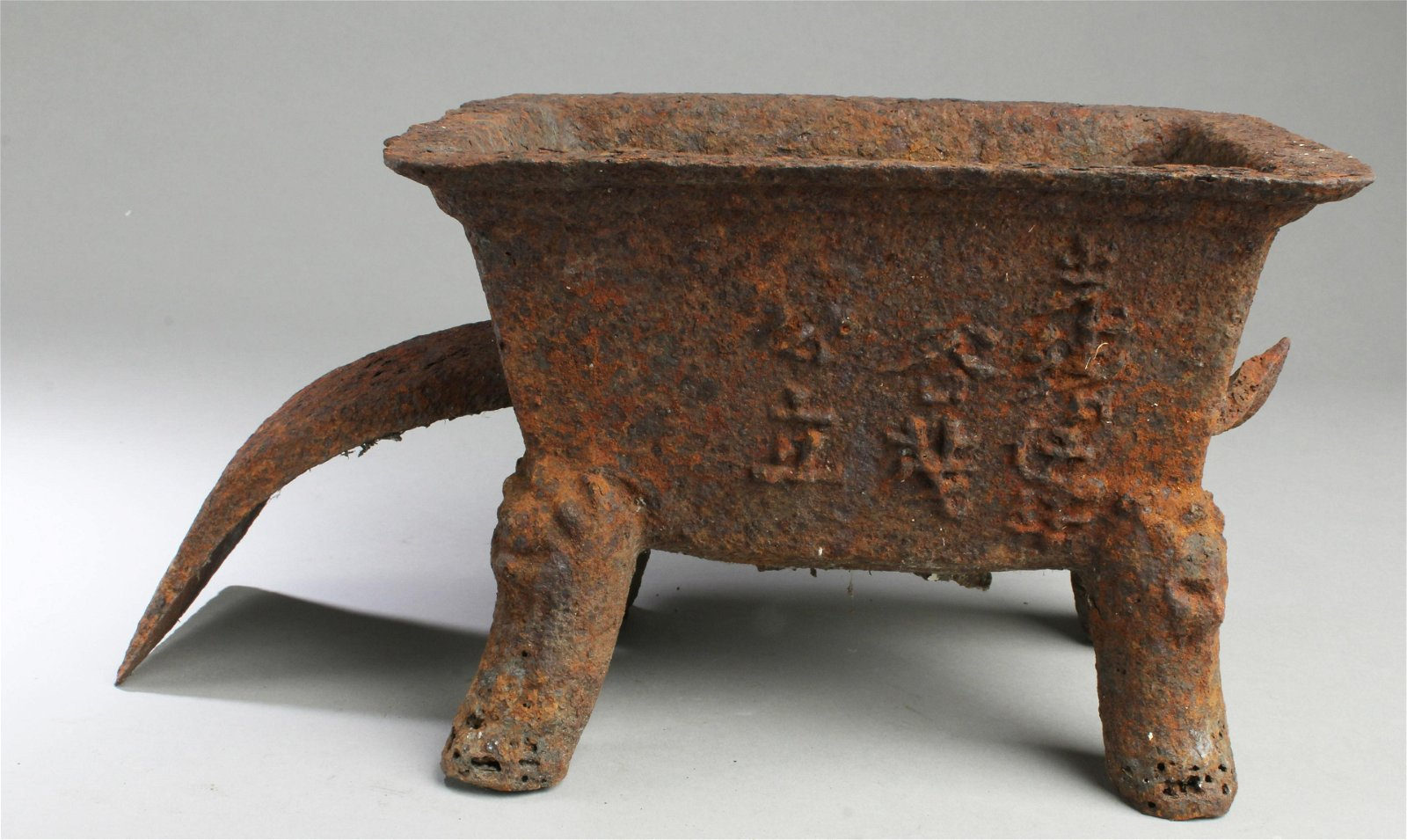Antique Chinese Cast Iron Censer