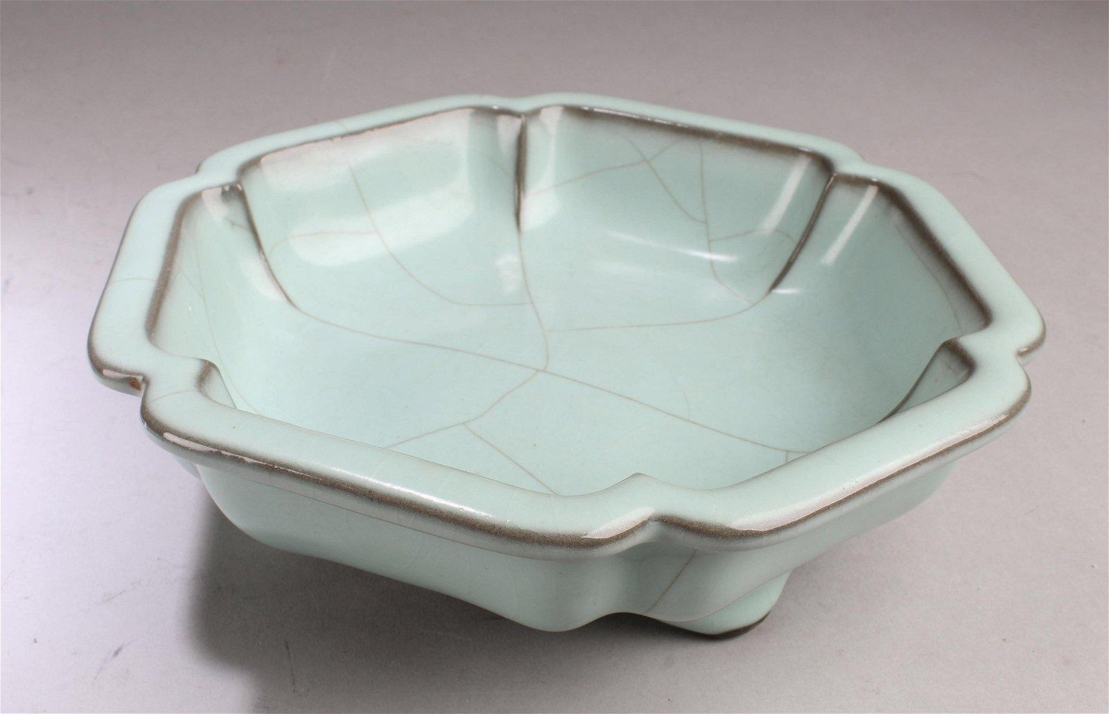 Chinese Porcelain Tripod Bowl