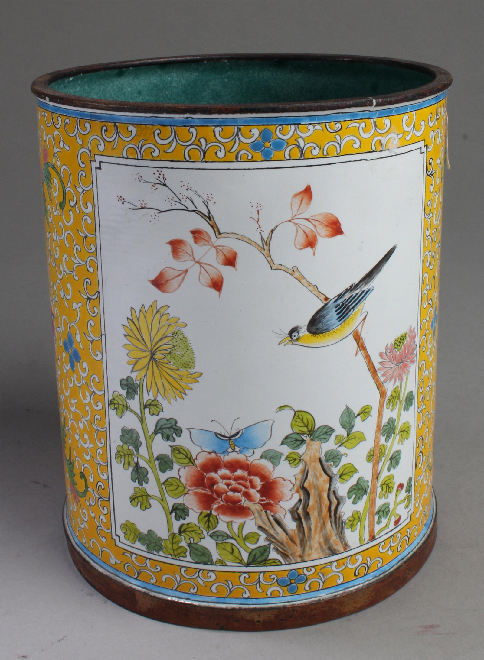 Chinese Cloisonne Brushpot