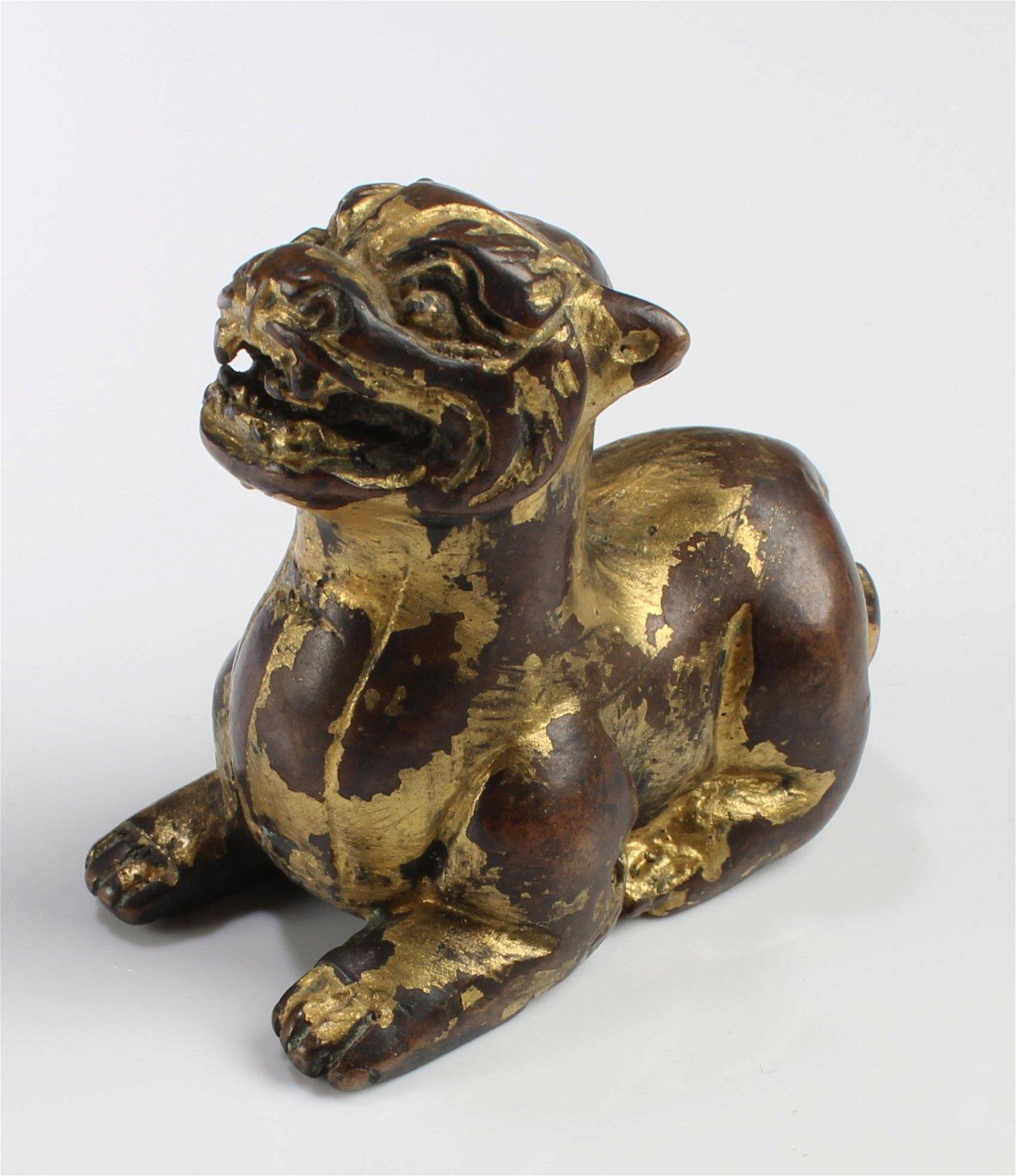 Chinese Gilt Bronze Ornament