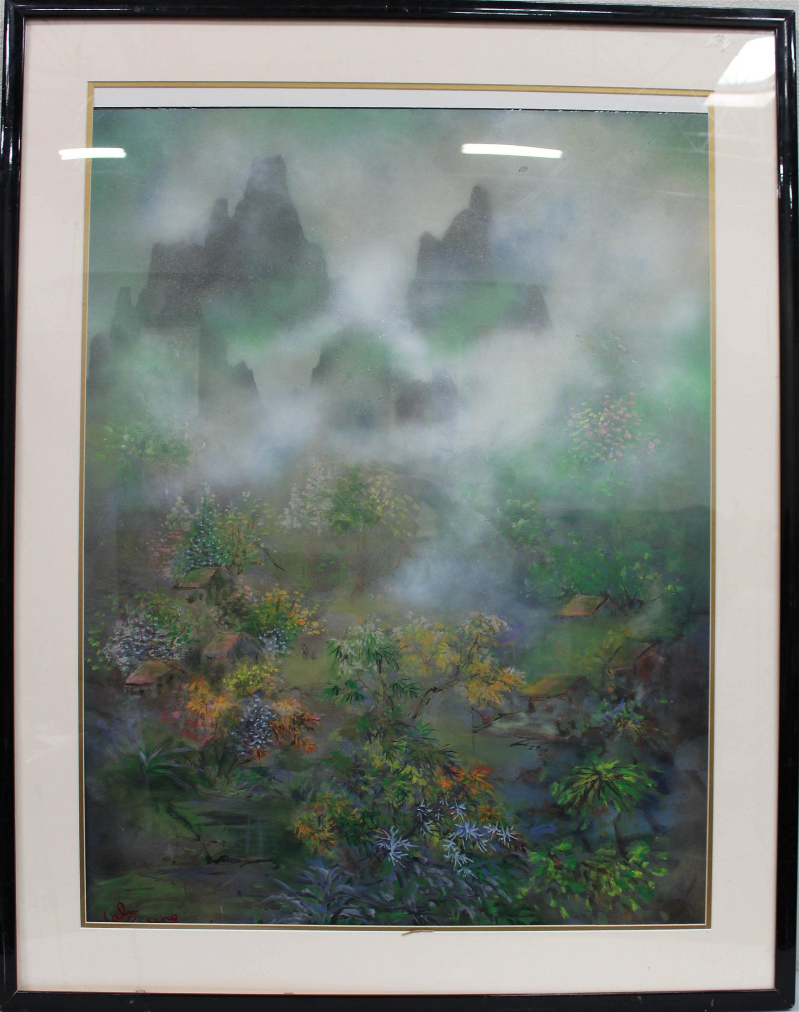 A Frame Painting