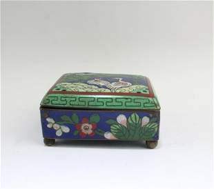 A Cloisonne Box