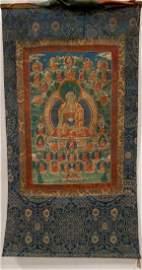 18th C Tibetan Thangka