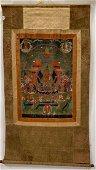 Antique 18th C Tibetan Thangka