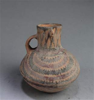 An Old Pottery Jar