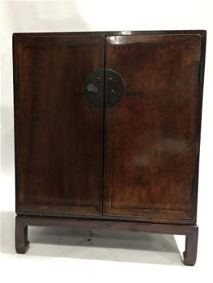 Antique Chinese Buddha Cabinet