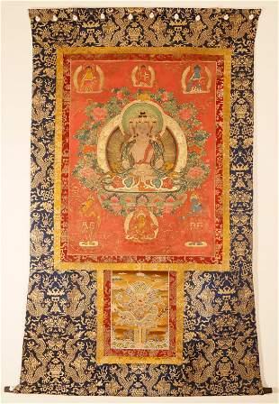 A Tibetan Budhism Thangka