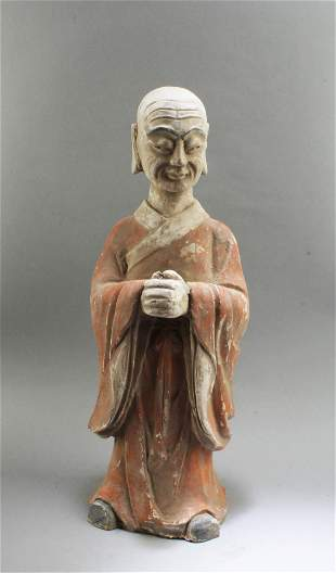 Chinese Pottery Arhat