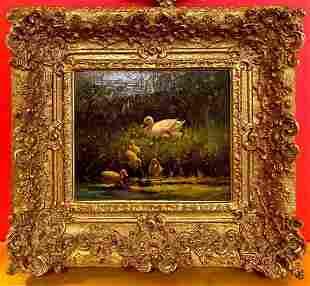 Antique Framed Oil Painting