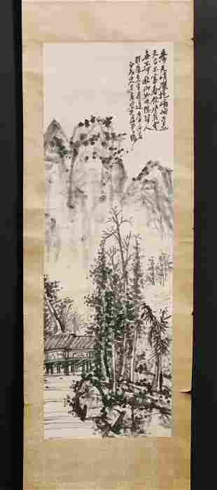A Hanging Scroll Painting