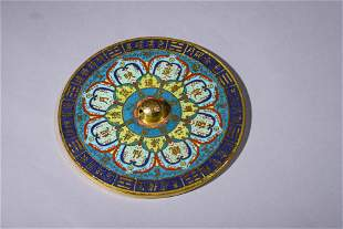 Qianlong Period of the Qing Dynasty: Bronze Mirror with