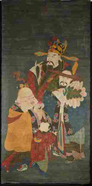A Painting on Cloth