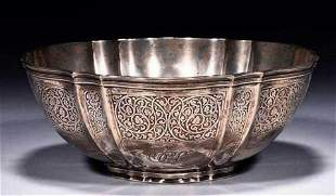 A Tiffany & Co. Sterling Silver Round Bowl