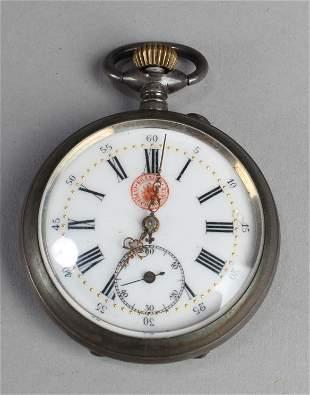An Erasier Interchangeable Pocket Watch