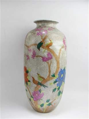 Chinese Polychrome Porcelain Vase