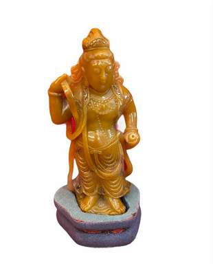 Chinese Tianhuang Carved Figurine