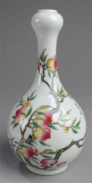 Chinese 'Onion-Head' Porcelain Vase