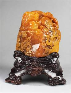 A Carved TianHuang Soapstone Seal