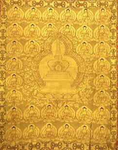 An Embroidered Buddha Pagoda