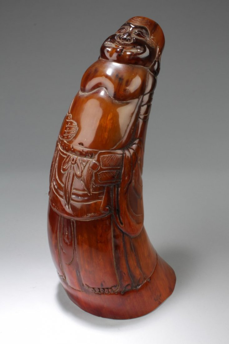 Chinese Horn Carving