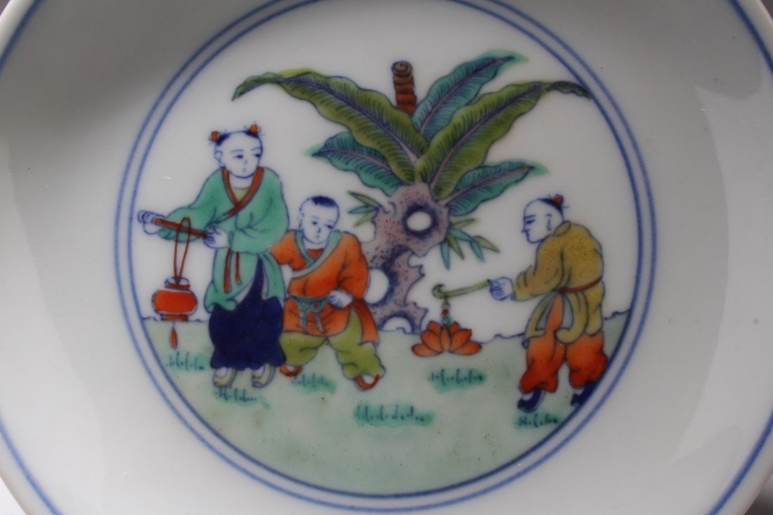 Chinese Porcelin Plate - 2
