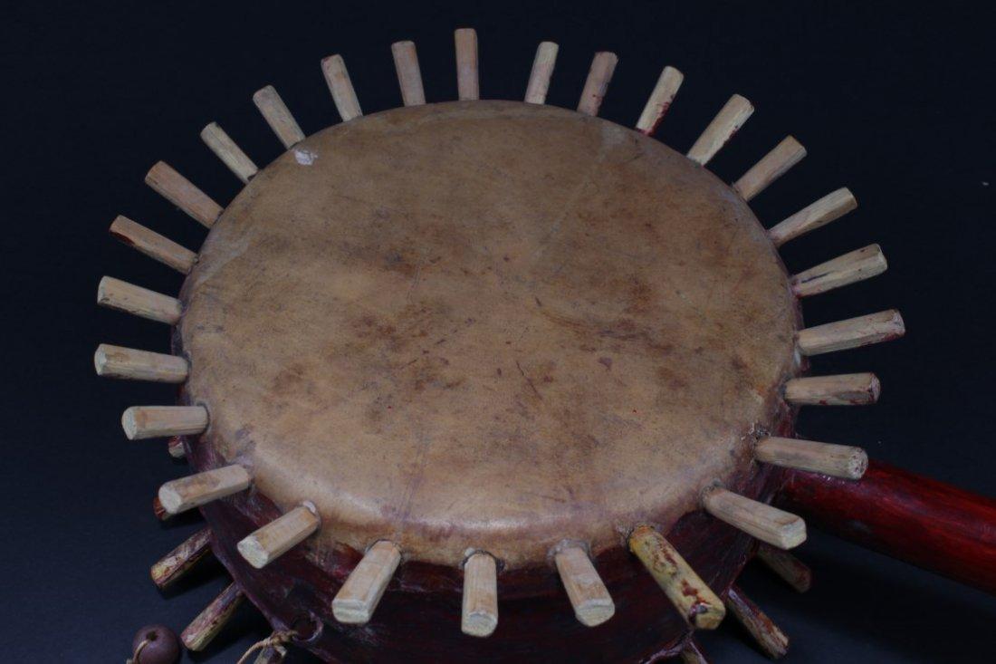 Antique Chinese Drum - 2