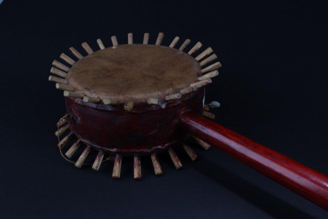 Antique Chinese Drum - 3
