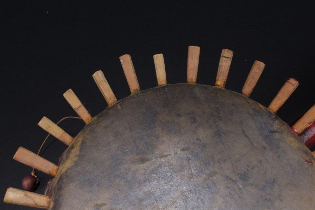 Antique Chinese Drum - 5