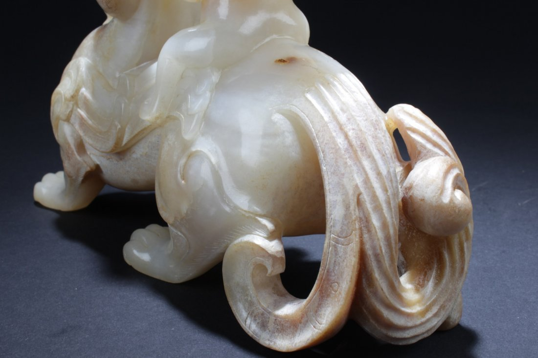 Chinese Jade Carved Ornament - 7