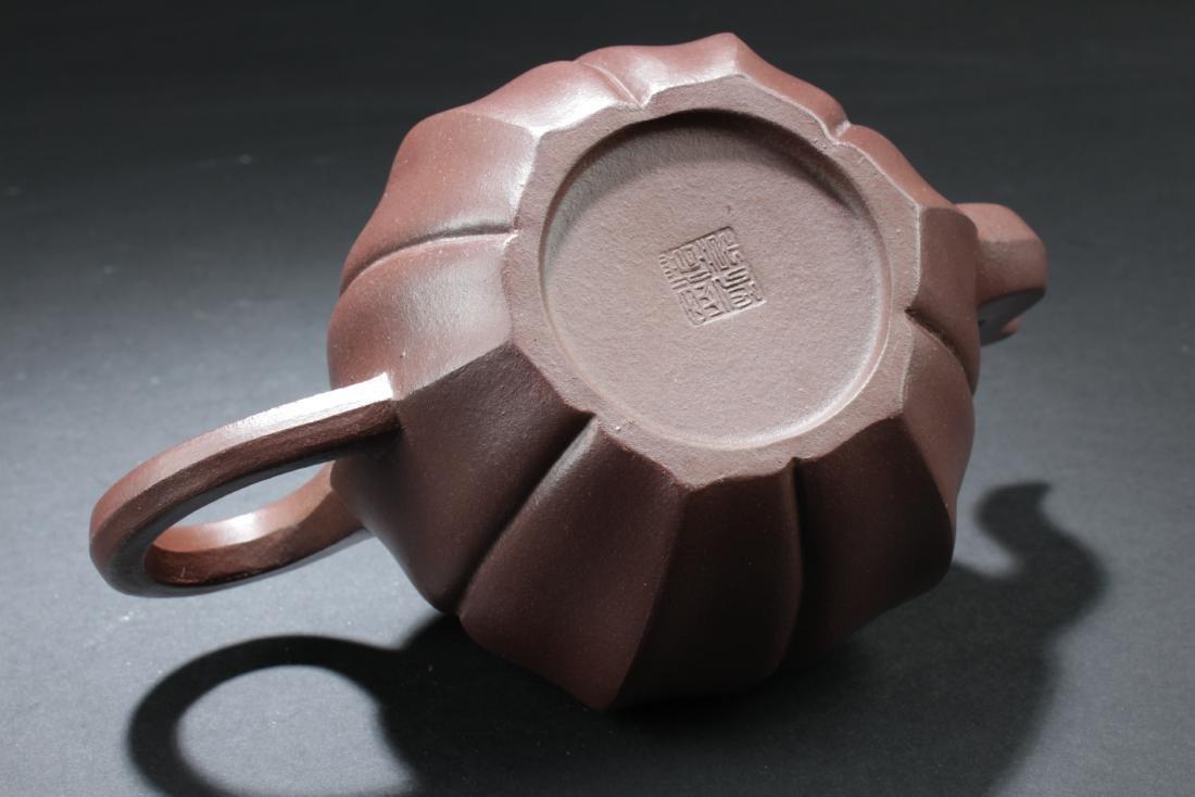 Chinese Zisha Teapot - 6