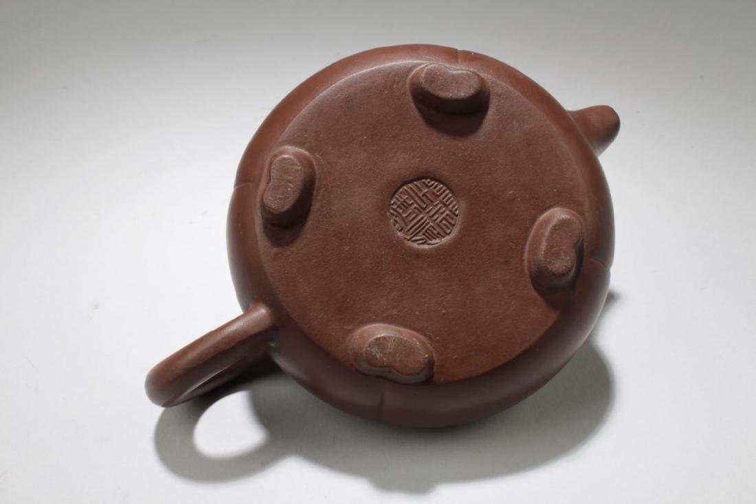 Two Chinese Zisha Teapot - 5