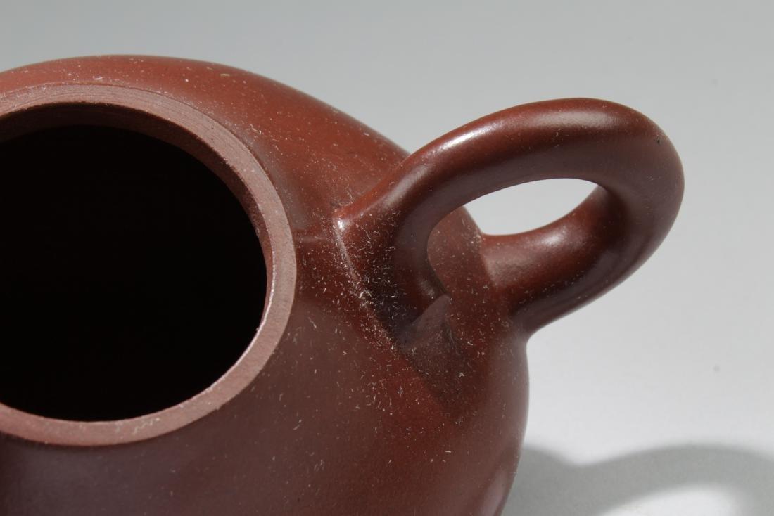 A Chinese Bull-decorating Tea Pot - 4
