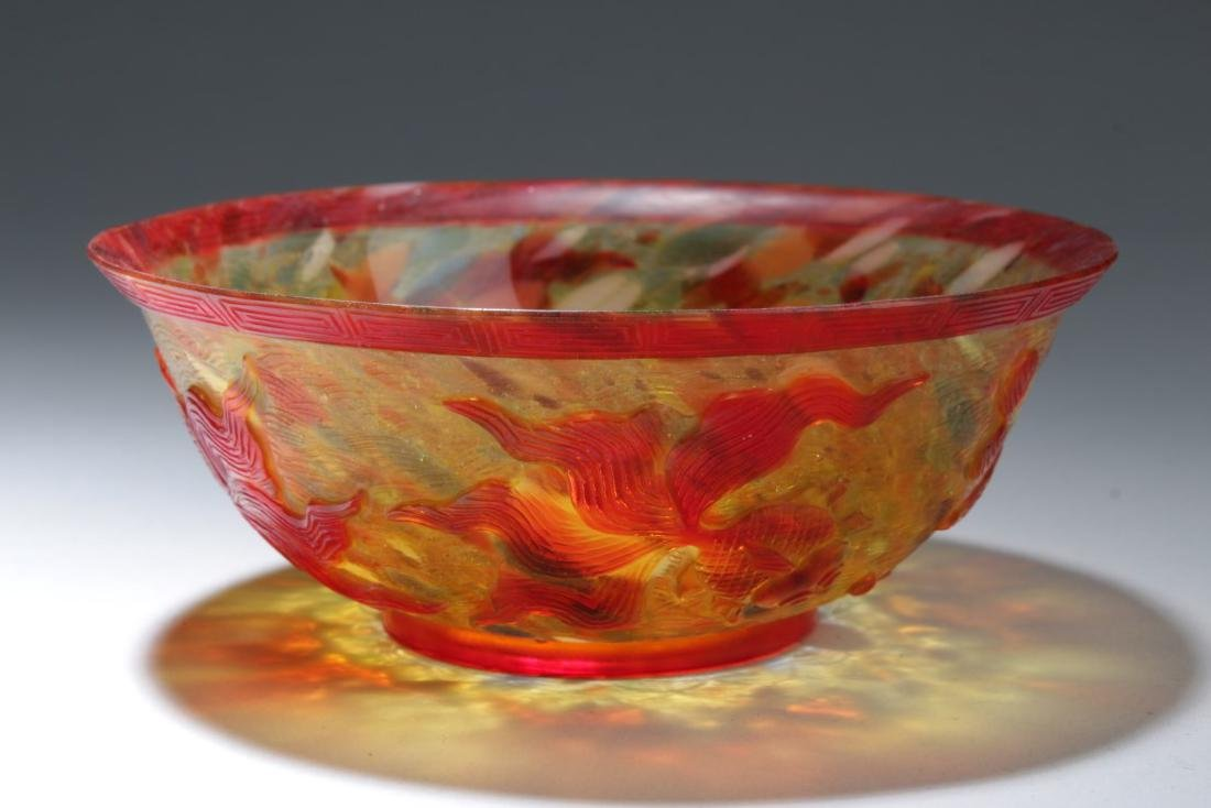 Chinese Glass Bowl