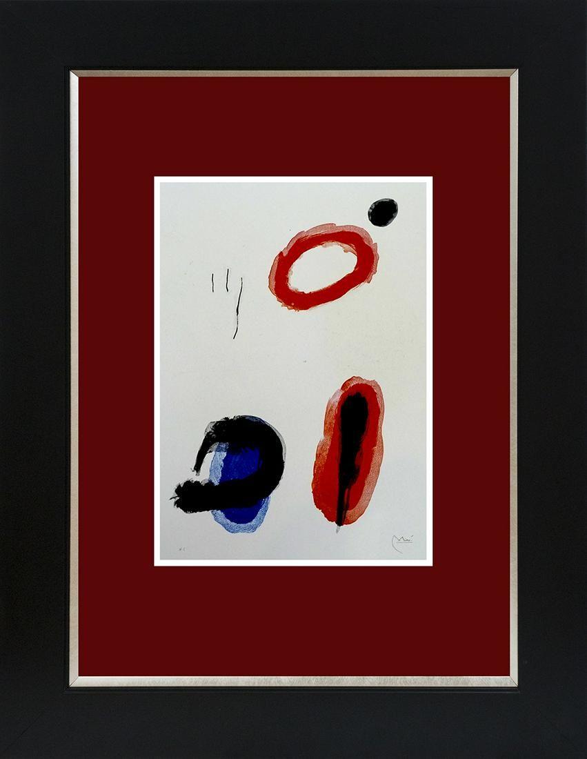 Joan Miro color plate Lithograph