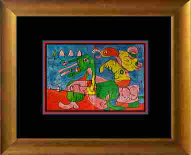 Joan Miro Lithograph from 1972
