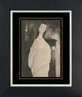 Modigliani Lithograph from 1933