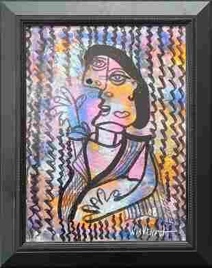 William Verdult Original on canvas