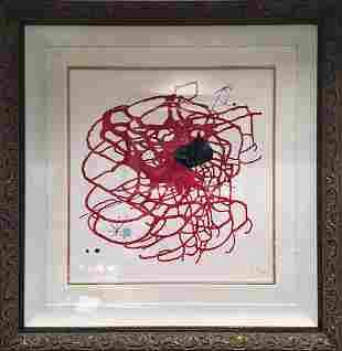 Joan Miro Original Lithograph Limited Edition Heart