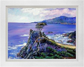 Cypress Point Monterey by David Lloyd Glover