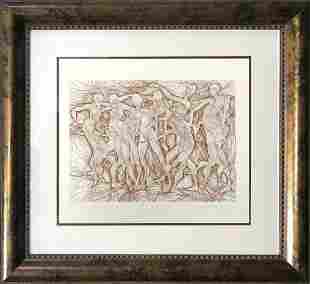 Azoulay Original Etching Limited Edition