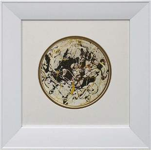 Jackson Pollock Color Plate Lithograph from 1970