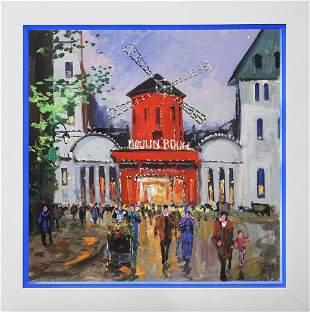 Original by Michael Schofield Moulin Rouge Paris
