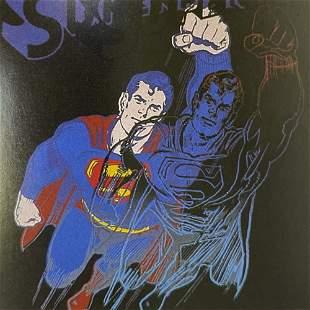 Andy Warhol Original Silkscreen with Diamond Dust